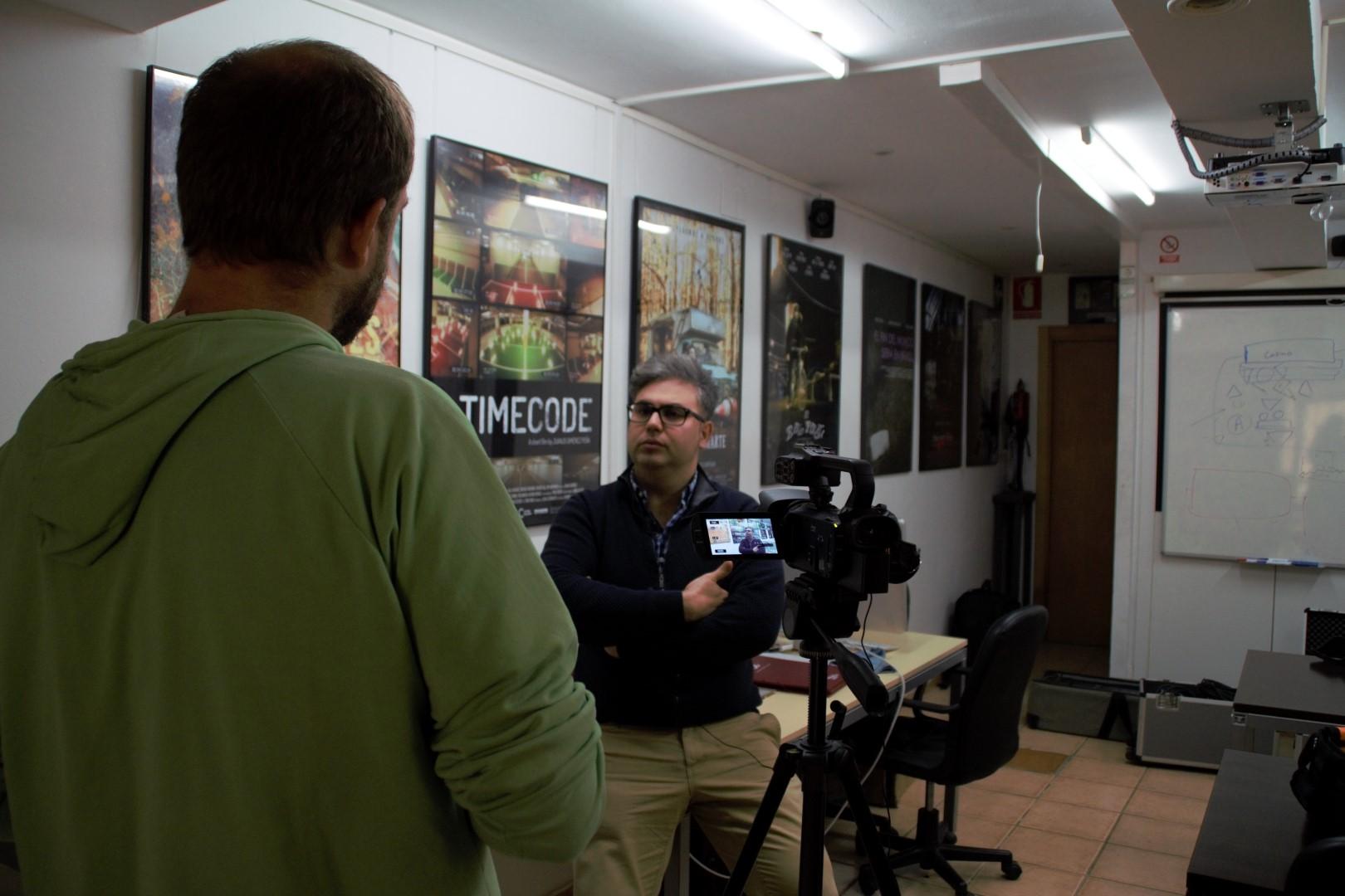 Daniel Villanueva, director de l'Escola de Cinema de Reus