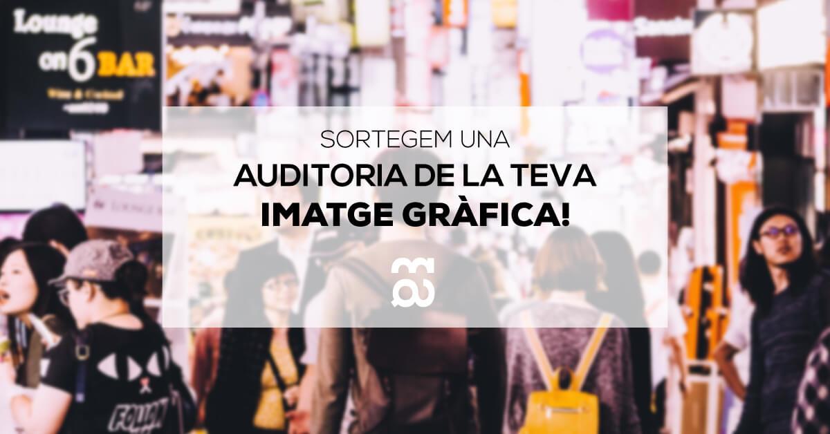 auditoria imatge grafica de disseny mirall digital