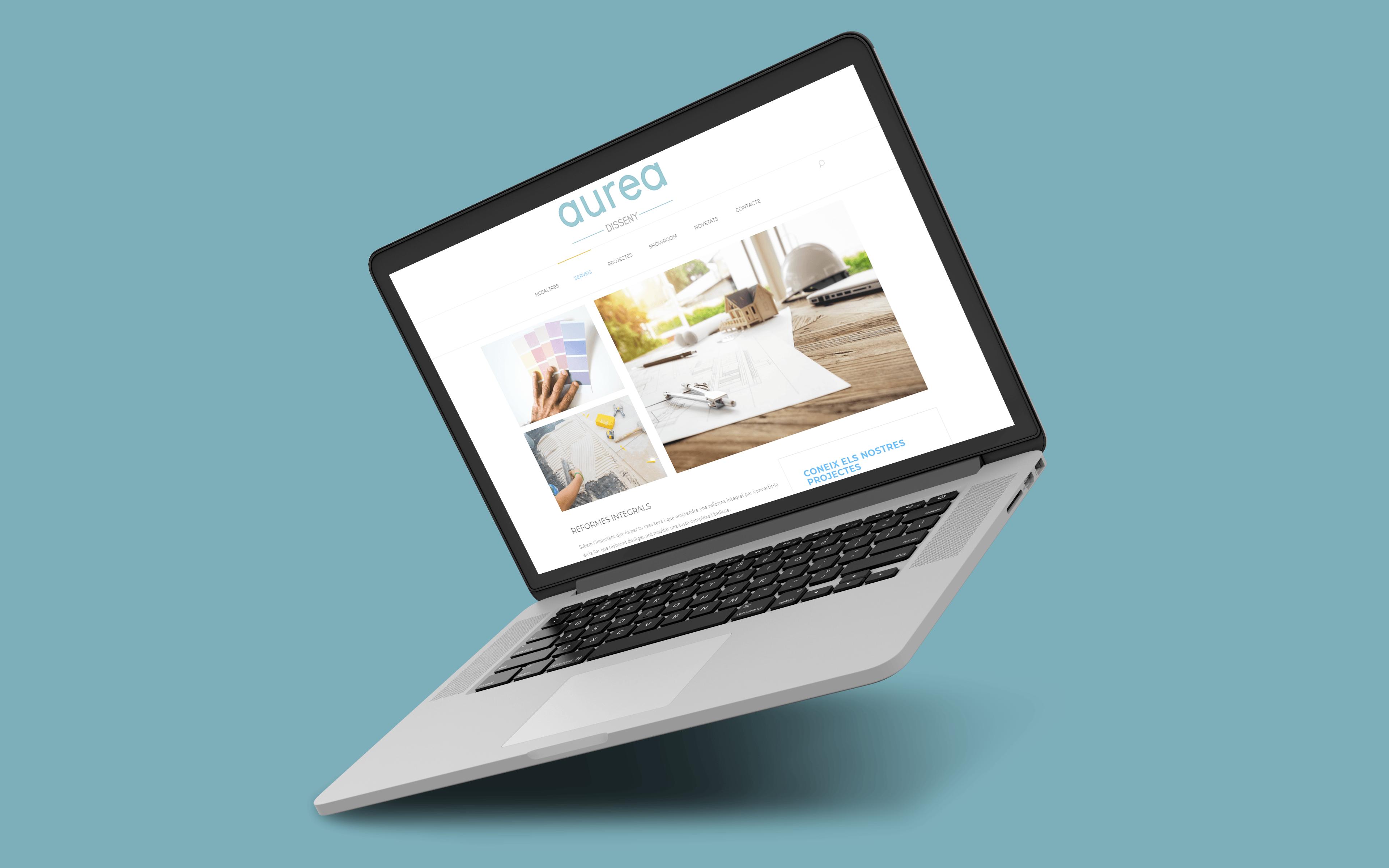 Diseño web tienda muebles