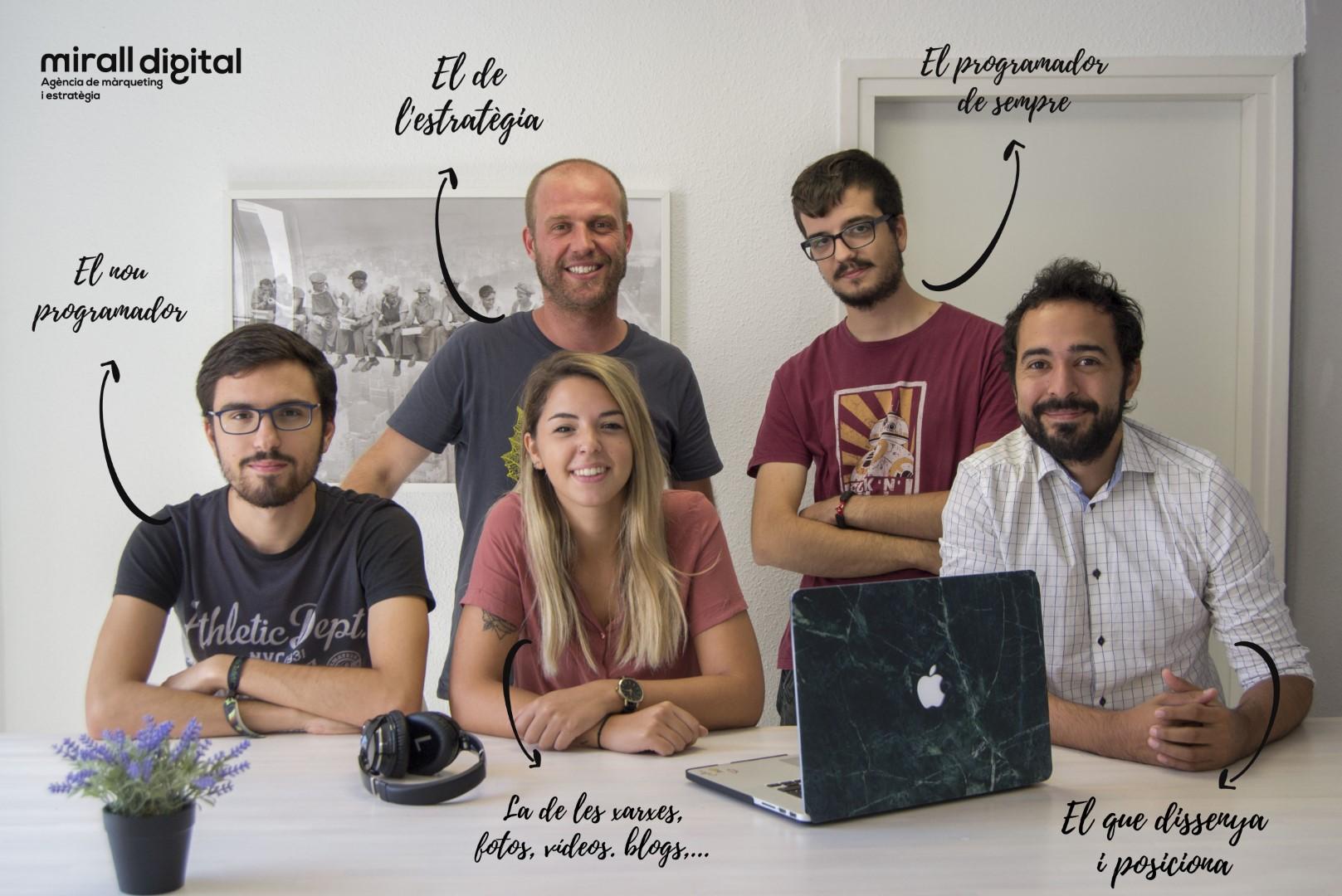 Mirall digital equip 2019